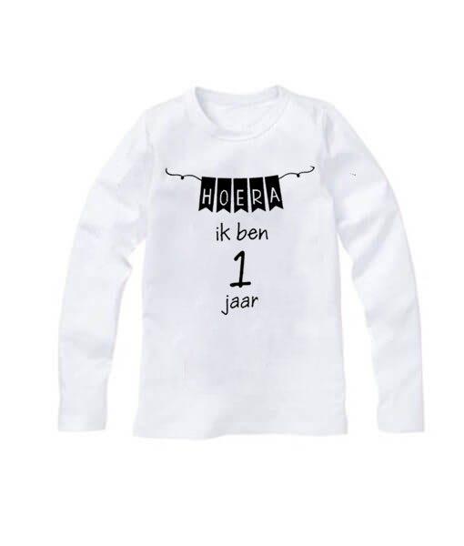 Eerste verjaardag shirt