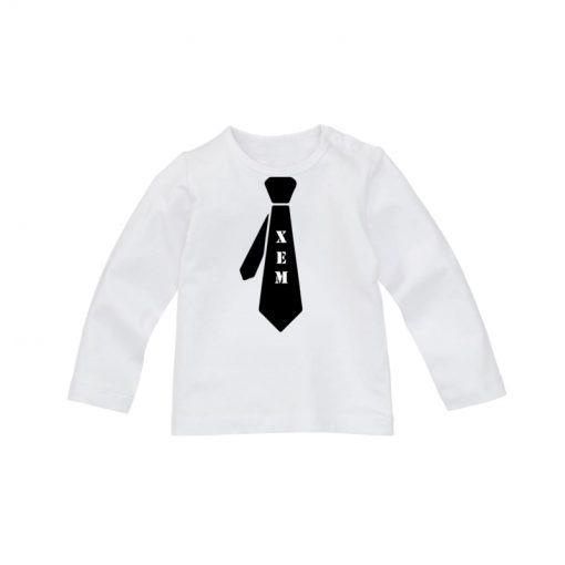 Stropdas shirt met eigennaam