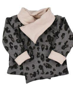 Omkeerbaar jasje voor meisjes