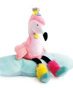 Flamingo knuffel met naam