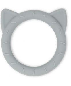 Mushie bijtring Cat stone