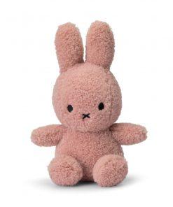 Miffy Sitting Teddy Pink